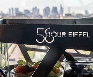 Restaurant 58 de la Torre Eiffel en París