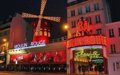 El cabaret del Moulin Rouge de París